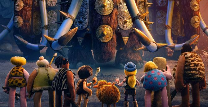Early man, 2018, animation movie wallpaper