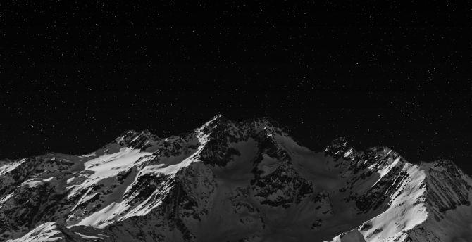 Desktop Wallpaper Mountain Dark Nature Hd Image Picture Background 7ea043