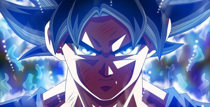 Desktop Wallpaper Wounded Son Goku Ultra Instinct Dragon Ball Super Hd Image Picture Background 810446