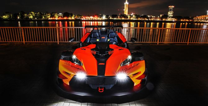 Wimmer RS KTM X-Bow R ' 2019, sports car, front wallpaper