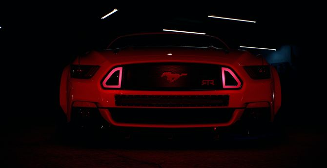 Headlight, Need for speed, ford mustang wallpaper