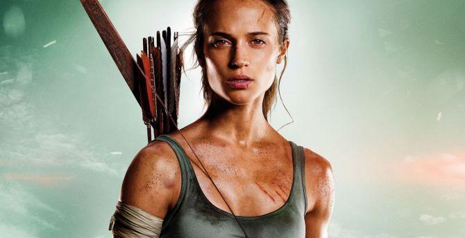 Tomb raider, 2018 movie, Alicia Vikander, Lara croft wallpaper