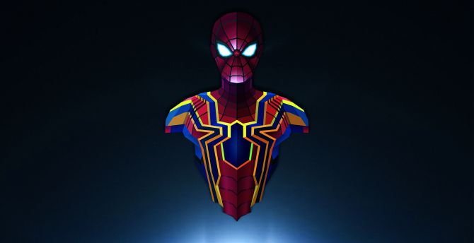 Spider-man, Avengers: infinity war, marvel comics wallpaper
