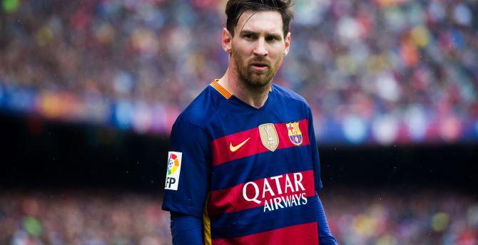 Lionel messi, fc barcelona, footballer, sports wallpaper