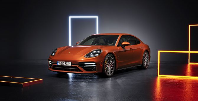 Desktop Wallpaper Sprotcar 2020 Porsche Panamera Hd Image Picture Background 8be555