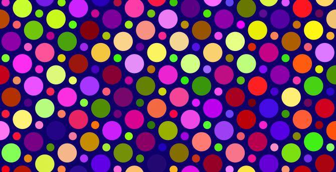 Texture, colorful, circles, abstract wallpaper
