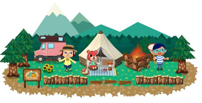 Desktop Wallpaper Animal Crossing Pocket Camp Mobile Game Hd