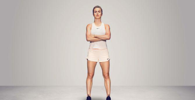 Elina Svitolina, celebrity, Ukrainian Tennis Player wallpaper