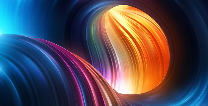Colorful curves, stock, abstract wallpaper