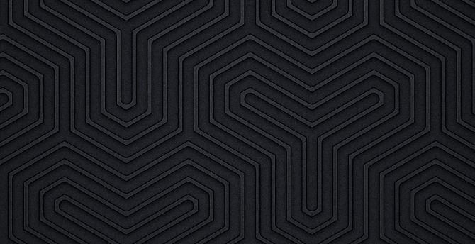 Black design, pattern, abstract wallpaper