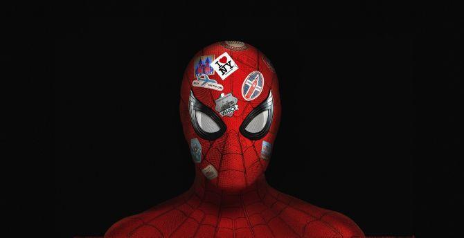 Desktop Wallpaper Spider Man Far From Home Cover Poster