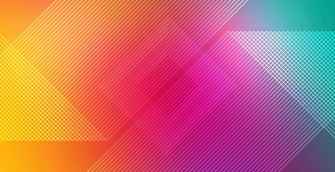 Multicolor abstract lines 4k