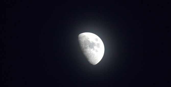 Half moon 4k