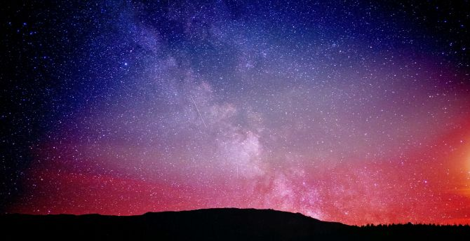 Must see Wallpaper Night Colorful - night_sky_constellations_colorful_4k  Best Photo Reference.jpg