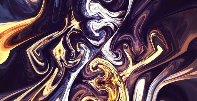Fractal, glitch art, abstract wallpaper