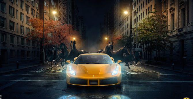 Get Ferrari 488 Gtb Wallpaper 2560X1440  Images