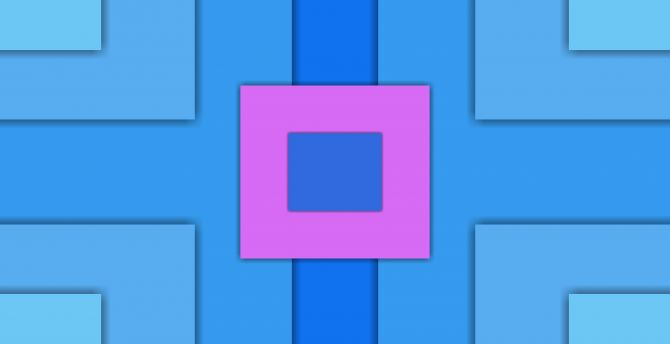 Squares, abstract, material design wallpaper