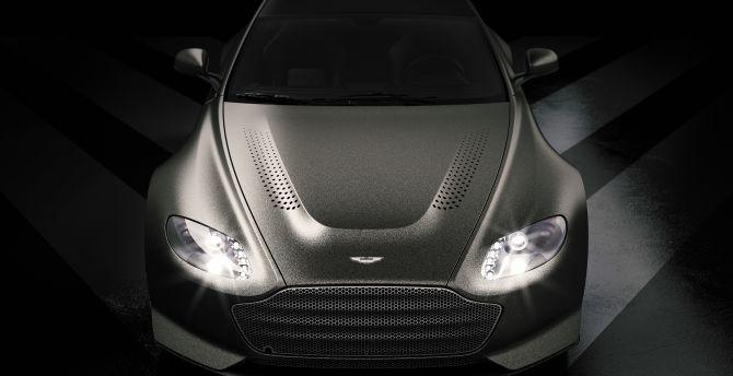 Super, luxury car, 2018, Aston Martin V12 Vantage V600 wallpaper