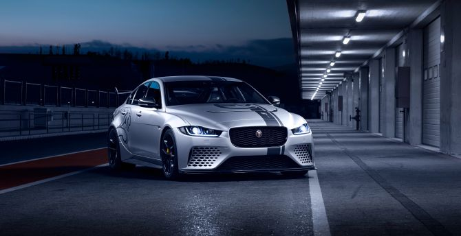 Desktop Wallpaper 2018 Front Jaguar Xe Sv Project 8 Hd Image Picture Background Ba6e2e