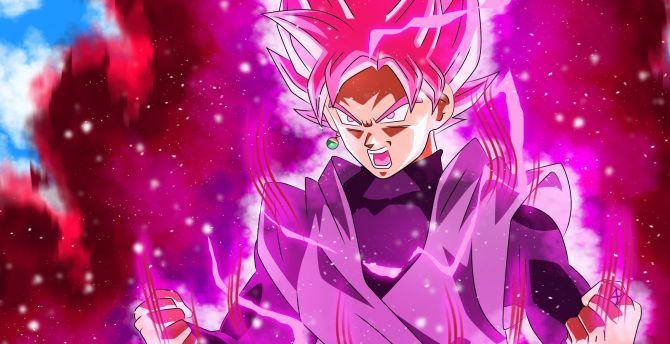 Desktop Wallpaper Full Power Dragon Ball Super Black Goku Hd Image Picture Background C12f06