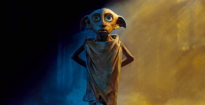 Dobby, the house elf, harry potter wallpaper