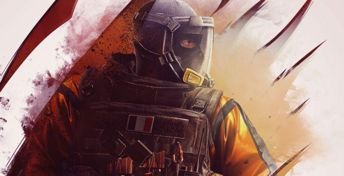 Jackson, Rainbow 6, Tom Clancy's Rainbow Six Siege, video game wallpaper