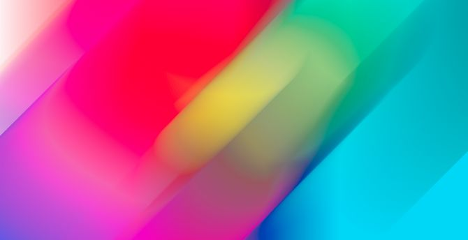 Colorful, blur, abstract wallpaper
