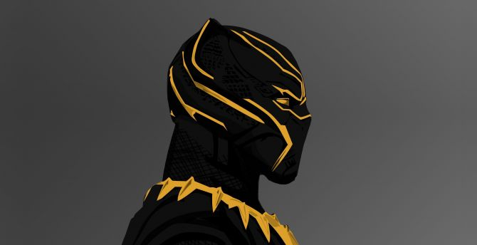 Desktop Wallpaper Black Panther 2018 Movie Erik Killmonger S