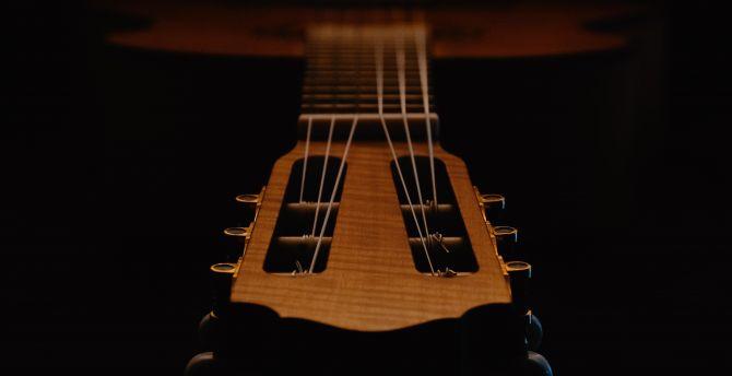 Desktop Wallpaper Music Instrument Classic Guitar Hd