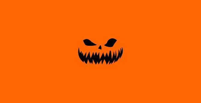 Halloween minimal