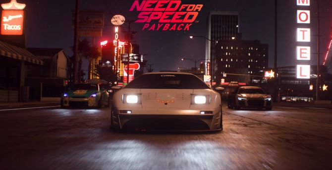 Need for speed payback, video game, Lamborghini, cars wallpaper