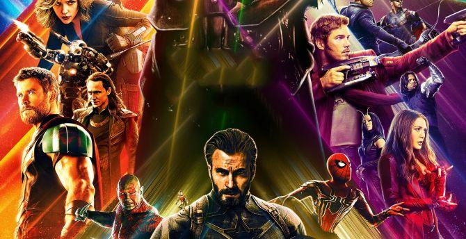 10 New Avengers Infinity War Desktop Wallpaper Full Hd: Desktop Wallpaper Avengers: Infinity War, 2018 Movie