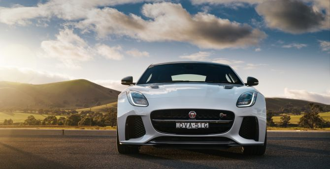 2019 Jaguar F-TYPE SVR Coupe, sports car wallpaper