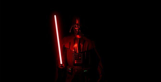 Desktop Wallpaper Darth Vader Villain Dark 2019 Hd Image