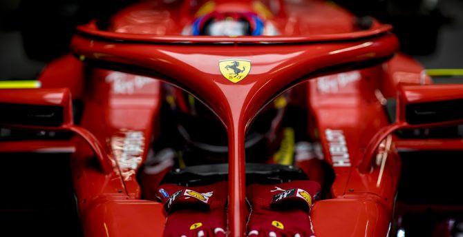 Ferrari SF71H, formula one, F1 sports cars, 2018 wallpaper