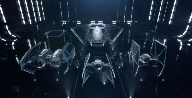 Desktop Wallpaper Star Wars Squadrons Video Game Starships 2020 Hd Image Picture Background D814be