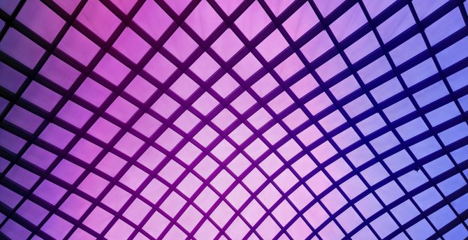 Grid, abstract, squares, pattern, digital art wallpaper