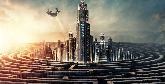Maze Runner: The Death Cure, 2018 movie, poster wallpaper