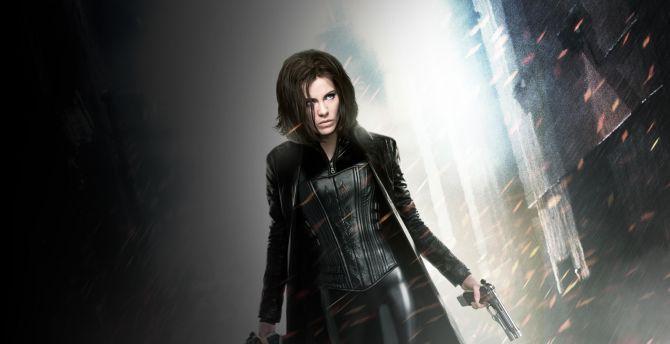 Vampire, Kate Beckinsale, Underworld, movie wallpaper