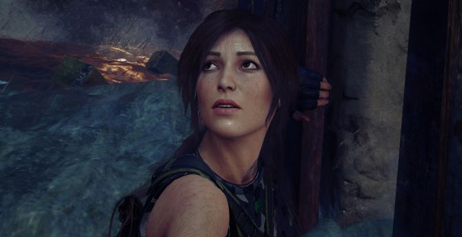 Download 2880x1800 Wallpaper Shadow Of The Tomb Raider