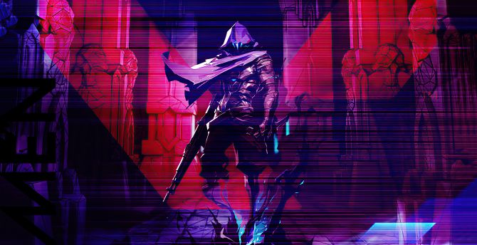 Desktop Wallpaper Omen Valorant 2020 Game Artwork Hd Image Picture Background Dea3b1