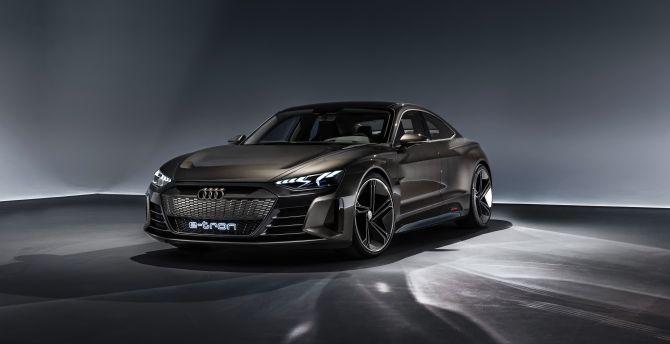 Desktop Wallpaper Audi E Tron Gt Concept 2019 Hd Image Picture Background E13a00