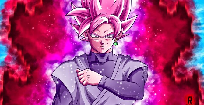 Super Saiyan Rose Goku Black Wallpaper: Desktop Wallpaper Black, Anime, Dragon Ball, Super Saiyan