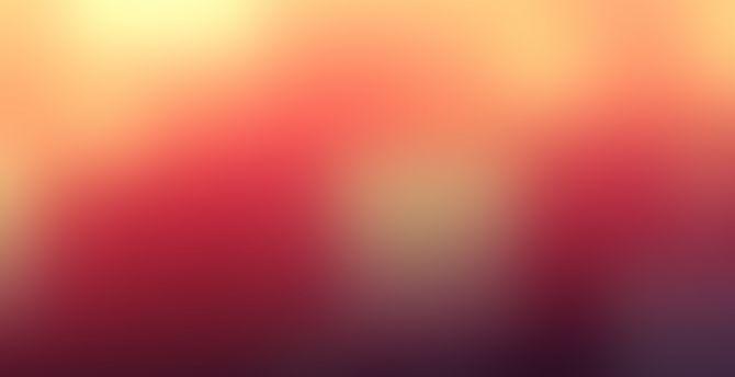 Blurred orange abstract 5k