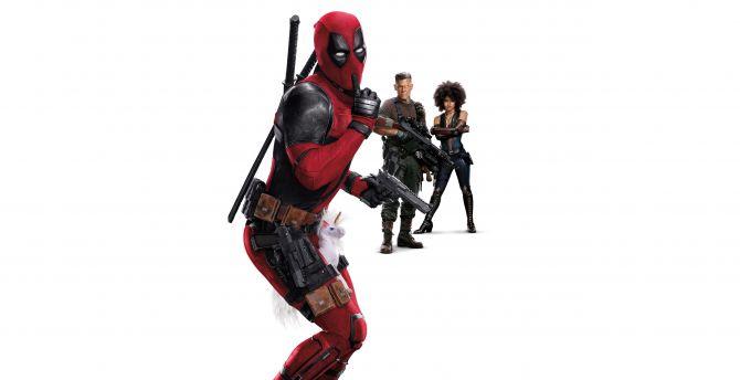 Deadpool 2 Funny Pose Movie Wallpaper
