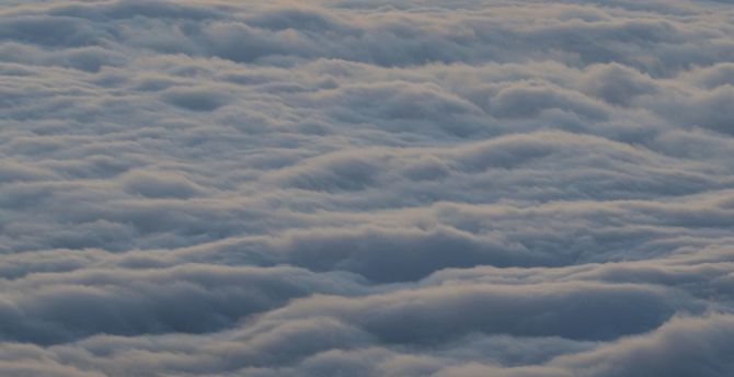 Clouds in the air, susnet, sky wallpaper