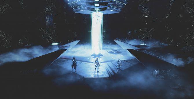 Desktop Wallpaper Mass Effect Andromeda Soldiers 2018 Hd Image