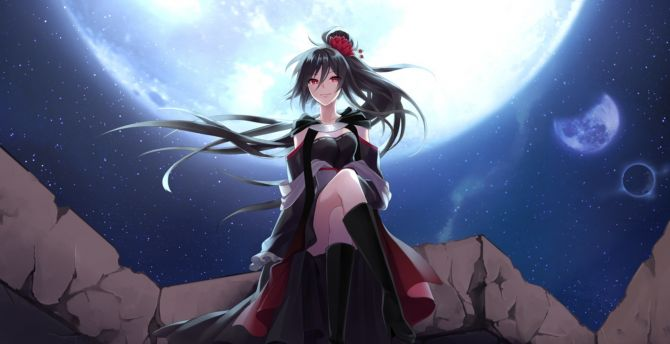 Desktop Wallpaper Hot Anime Girl Fault Silence The Pedant Video Game Hd Image Picture Background E90276