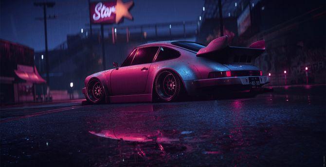Desktop Wallpaper Porsche 911 Carrera Rsr Sports Car Art Hd Image Picture Background Ea278b
