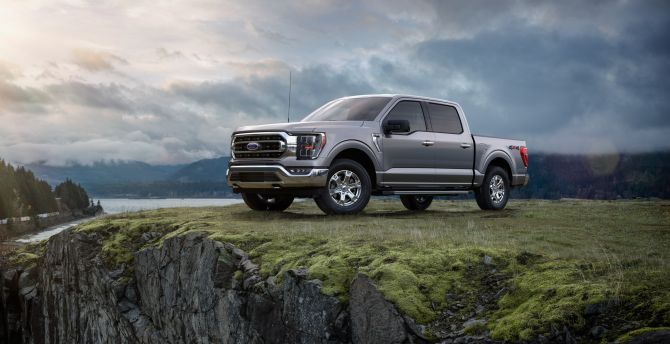 Desktop Wallpaper Pickup Truck Ford F 150 Off Road Hd Image Picture Background Ea5684